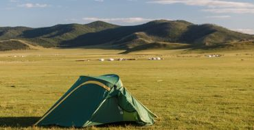 Mongolei - A room with a view