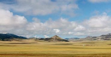Mongolei Weite Steppe